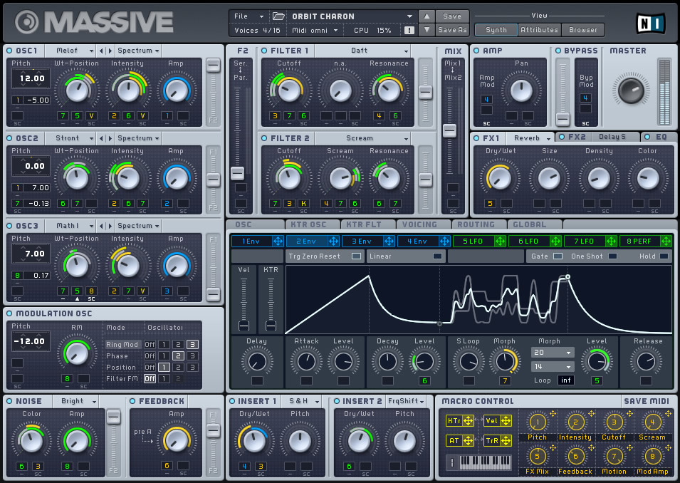 Massive Sounds from Native Instruments Massive Synth
