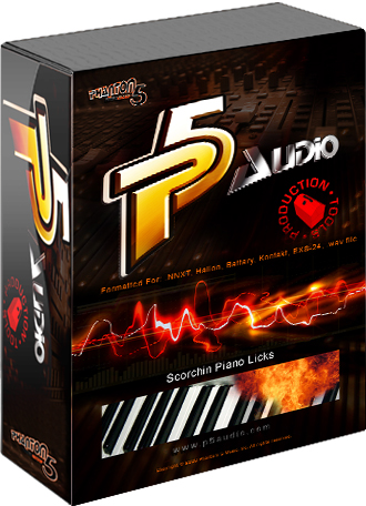 Scott Storch piano samples from p5audio. Your very own Pianoman.