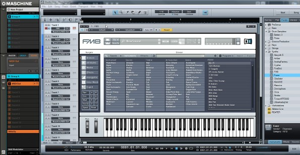 Ni Maschine Sequencing Vsts In Presonus Studio One