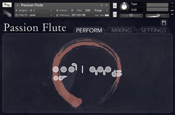 OrangeTreeSamples World Instruments Passion Flute KONTAKT