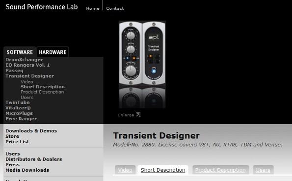 spl transient designer plugin review. Black Bedroom Furniture Sets. Home Design Ideas