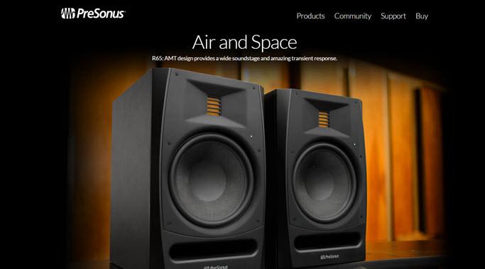presonus r65 amt studio monitor review. Black Bedroom Furniture Sets. Home Design Ideas